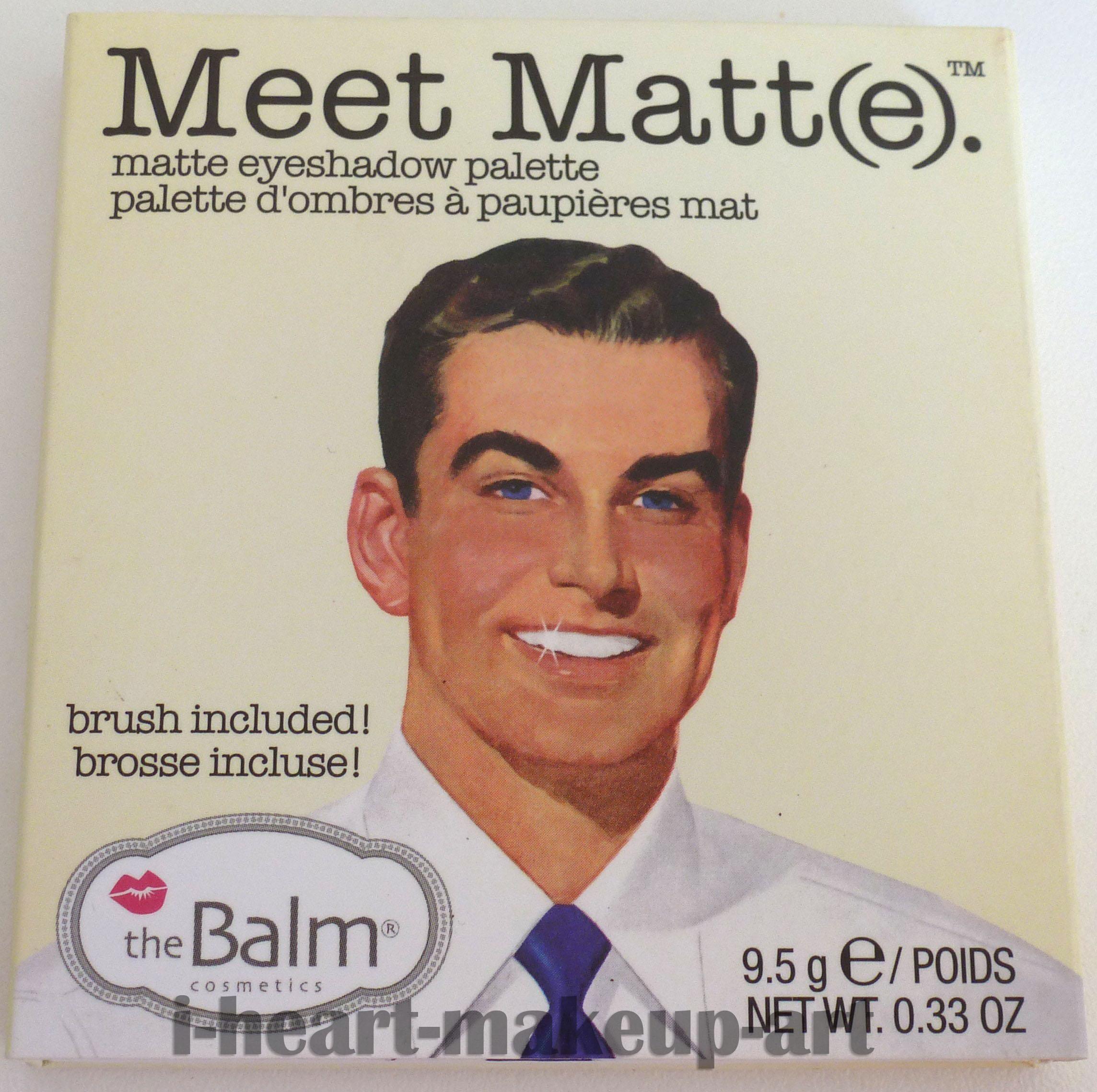 REVIEW: theBalm Meet Matt(e)