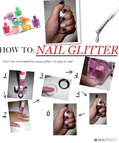 HOW TO: Nail Glitter