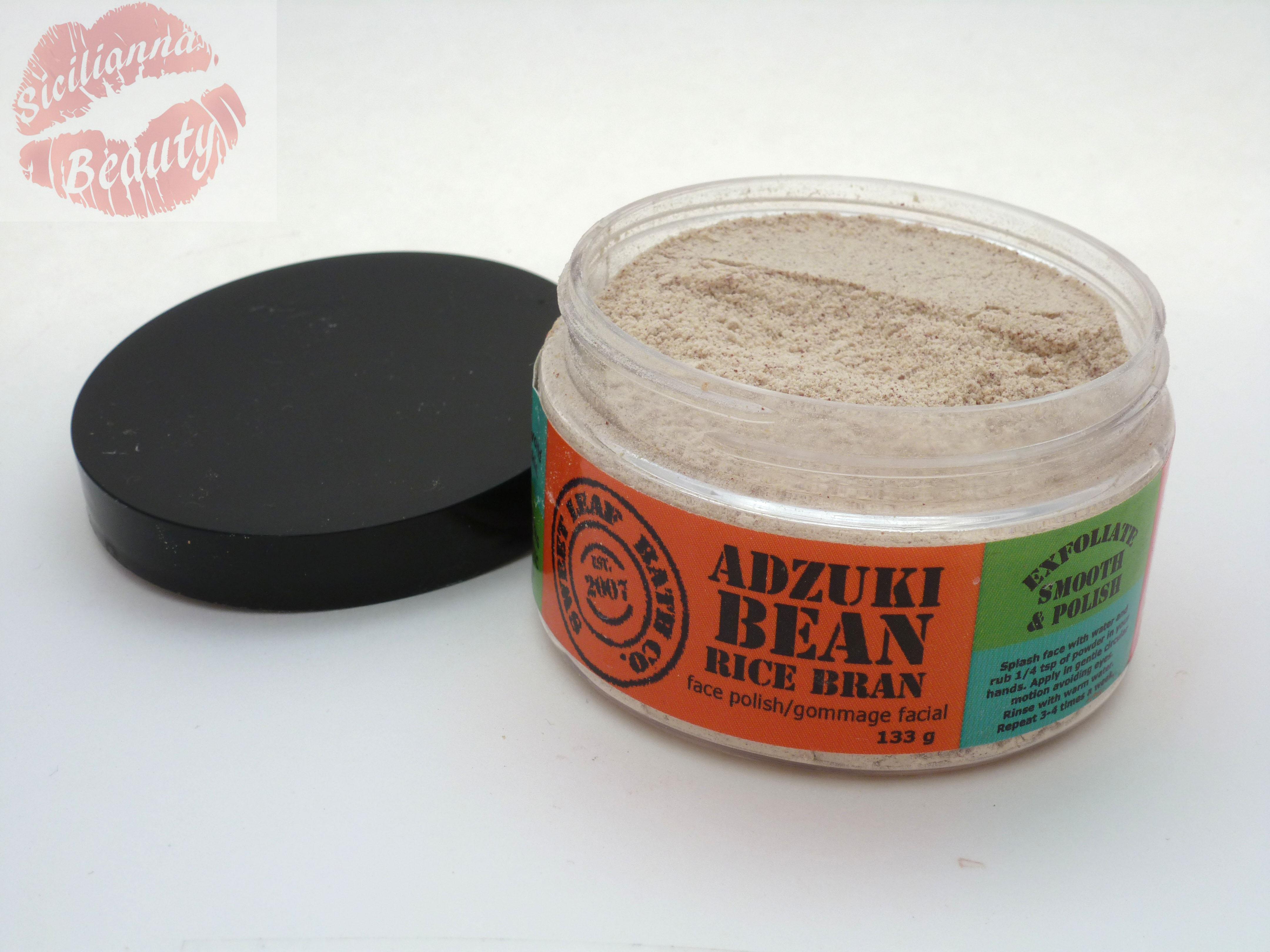 REVIEW: Sweet Leaf Bath Adzuki Bean & Rice Bran Face Polish