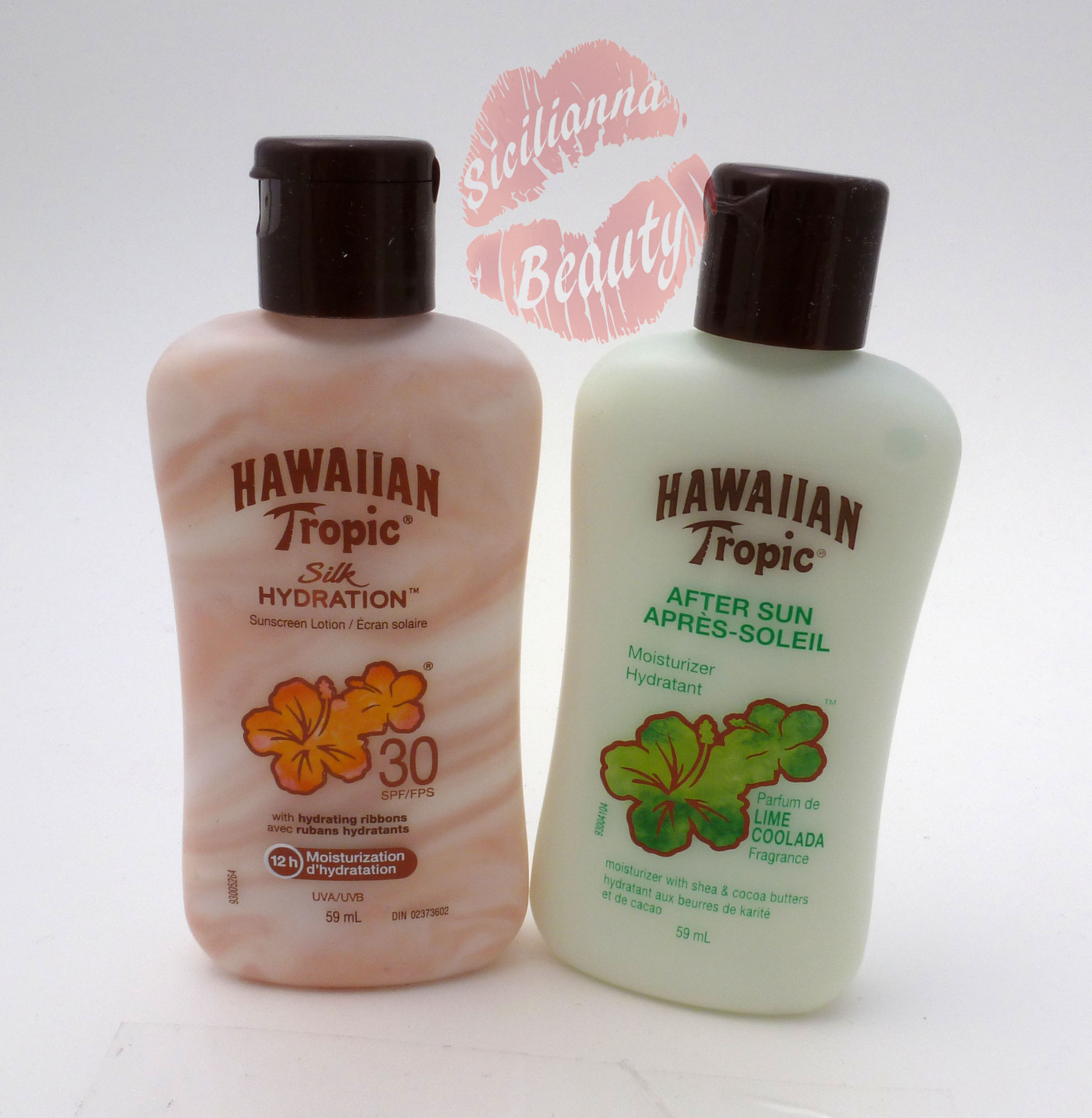REVIEW: Hawaiian Tropics Silk Hydration Suncreen Lotion SPF30 and After Sun Moisturizer