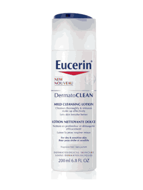 REVIEW: Eucerin DermatoCLEAN Mild Cleansing Lotion