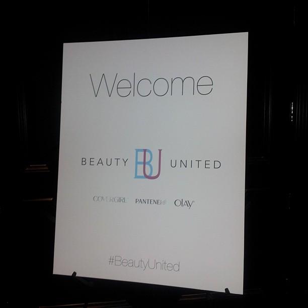 P&G #BeautyUnited Launch