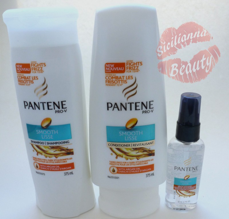 REVIEW: Pantene Smooth Shampoo, Conditioner, and Serum with Argan Oil