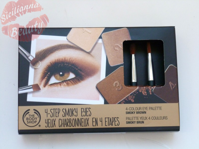 REVIEW: The Body Shop SPECIAL EDITION 4-Step Smoky Eye Palette in Smoky Brown