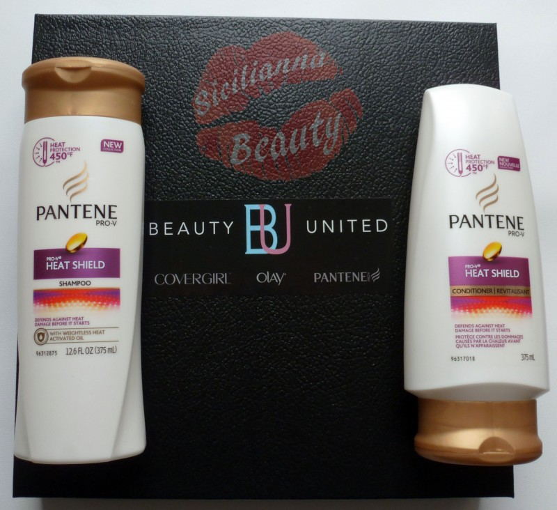 60 Second Hair Therapy with Pantene Pro-V Heat Shield Shampoo & Conditioner
