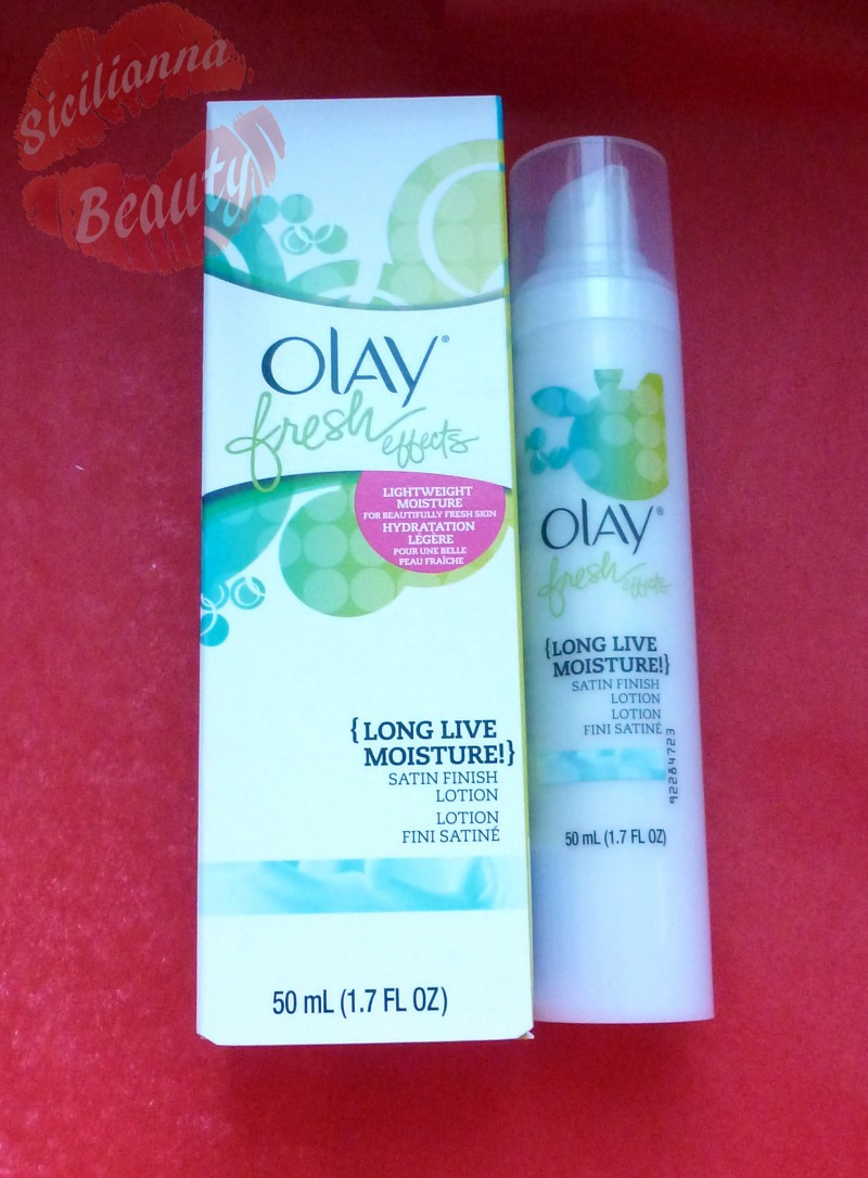 REVIEW: Olay Fresh Effects {Long Live Moisture}
