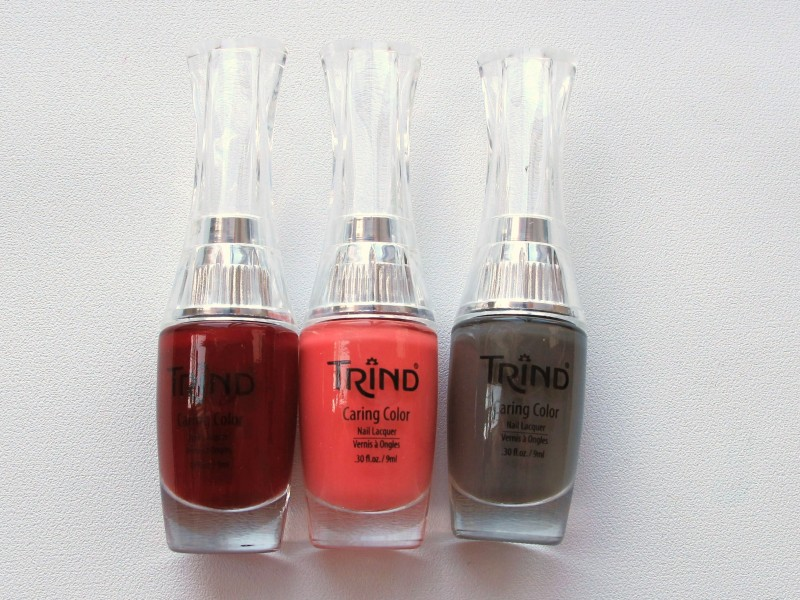 REVIEW: Trind Caring Color Nail Line
