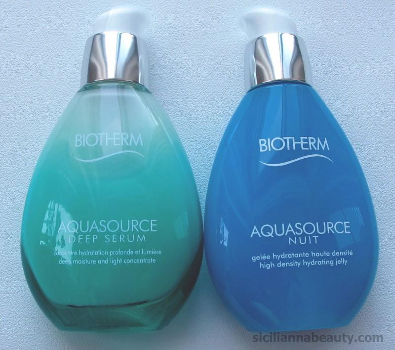REVIEW: Biotherm Aquasource Deep Serum & Aquasource Nuit