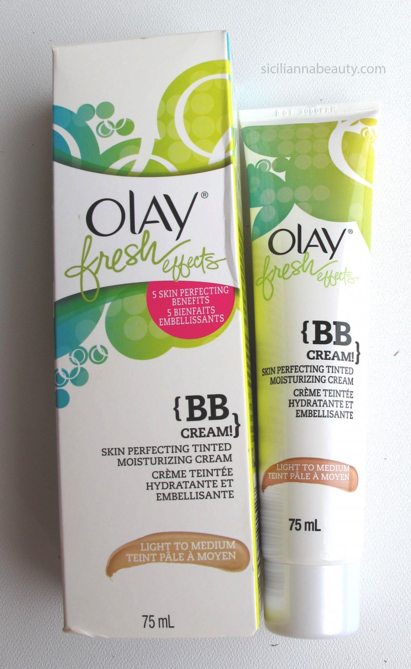 REVIEW: Olay Fresh Effects BB Cream (aka not really a BB Cream!)
