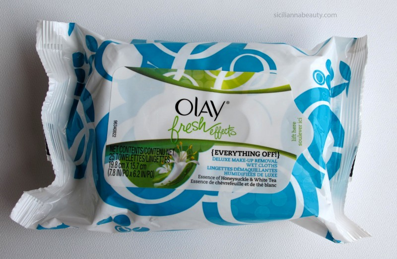REVIEW: Olay Fresh Effects {Everything Off} Deluxe Makeup Remover Wet Cloths