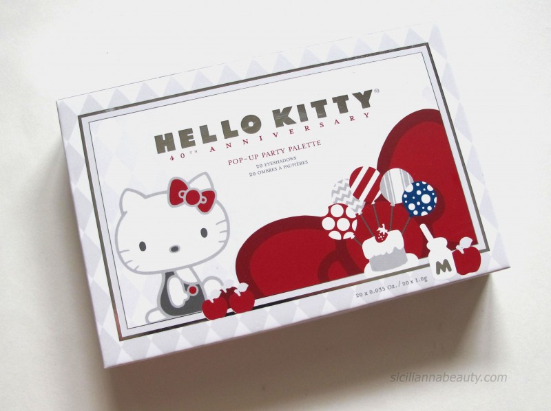 Hello Kitty Celebrates 40 years with Pop Up Party Eyeshadow Palette