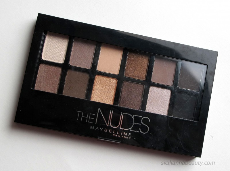 REVIEW: Maybelline 'The Nudes' Palette