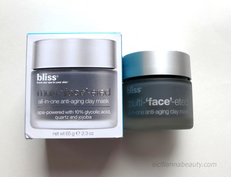 REVIEW: Bliss Multi-'face'-eted All-in-one Anti-aging Clay Mask
