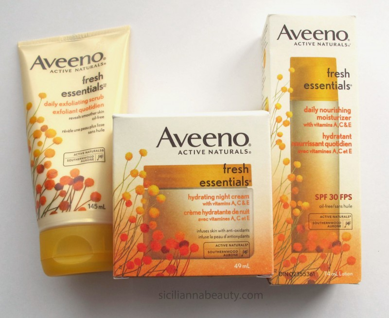 GIVEAWAY: Aveeno Fresh Essentials Collection {CLOSED – WINNER ANNOUNCED}