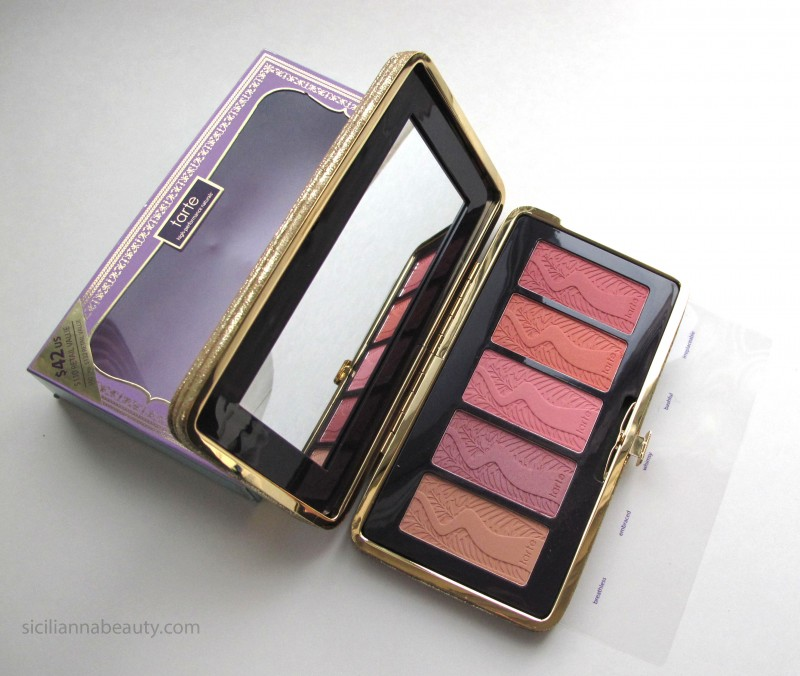 REVIEW: Tarte Pin Up Girl Amazonian Clay 12hr Blush Palette