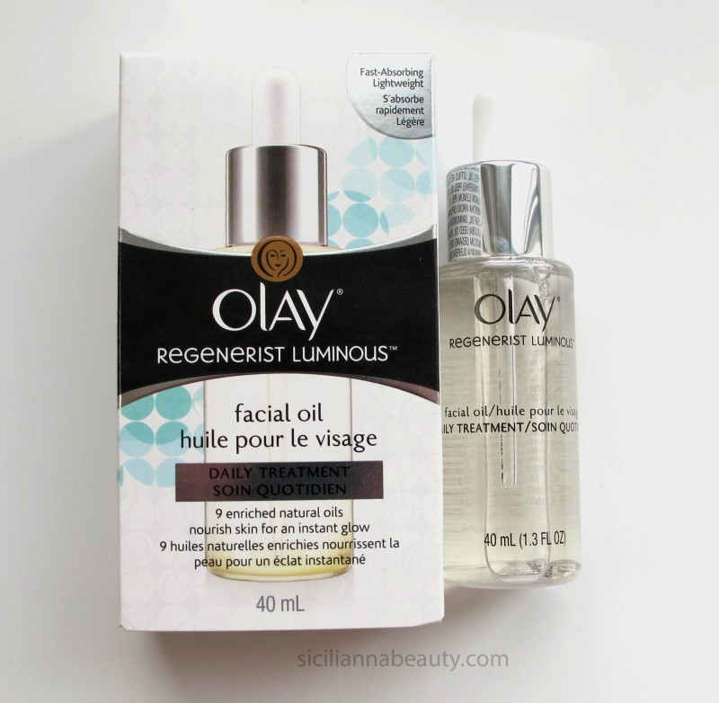 REVIEW: Olay Regenerist Luminous Facial Oil