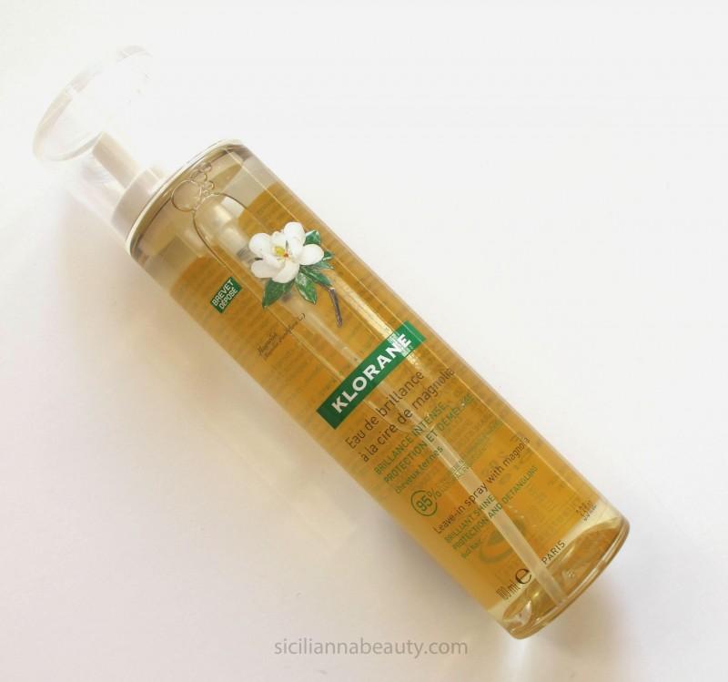 REVIEW: Klorane Magnolia Shine Leave-In Spray