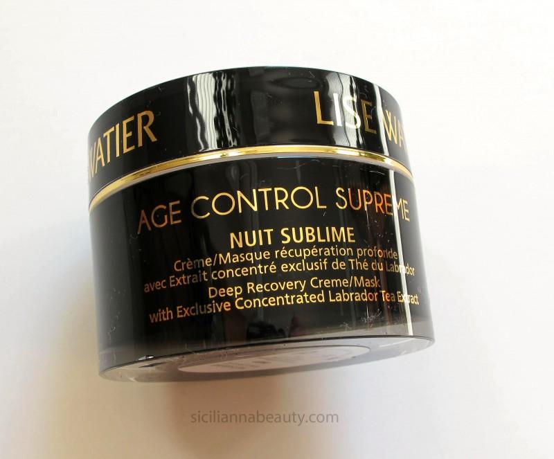 Lise Watier Age Control Supreme Nuit Sublime