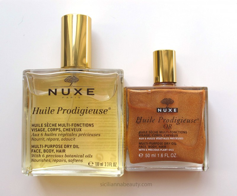 Nuxe Huile Prodigieuse – Face, Body, and Hair Dry Oil
