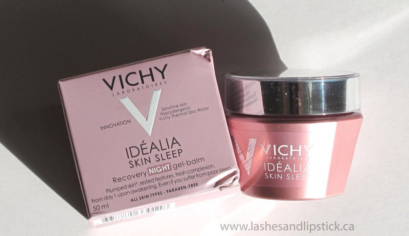 REVIEW: Vichy Idealia Skin Sleep