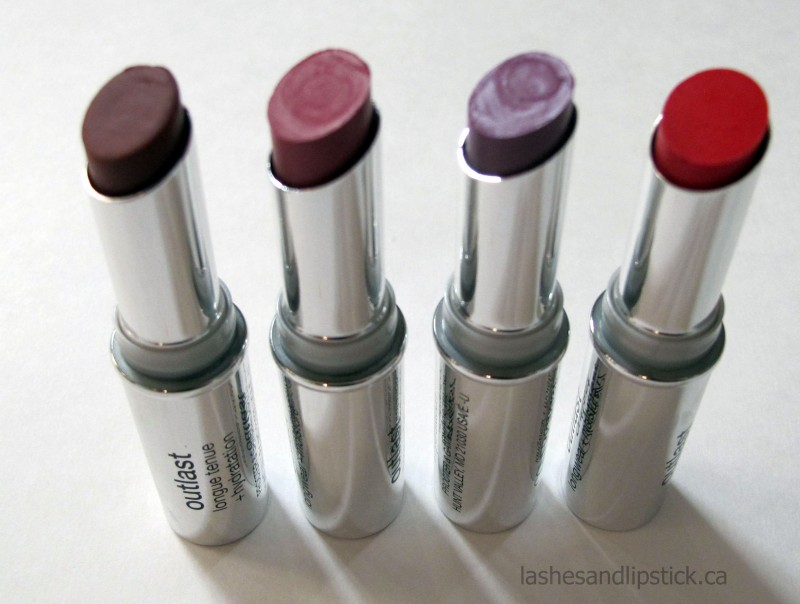 REVIEW: Covergirl Outlast Longwear Lipsticks
