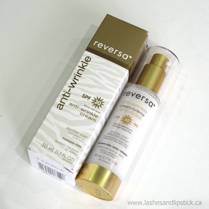 REVIEW: Reversa Anti-Wrinkle Cream with SPF30