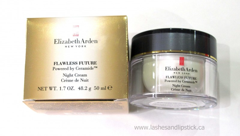 REVIEW: Elizabeth Arden Flawless Future Powered by Ceramide Night Cream