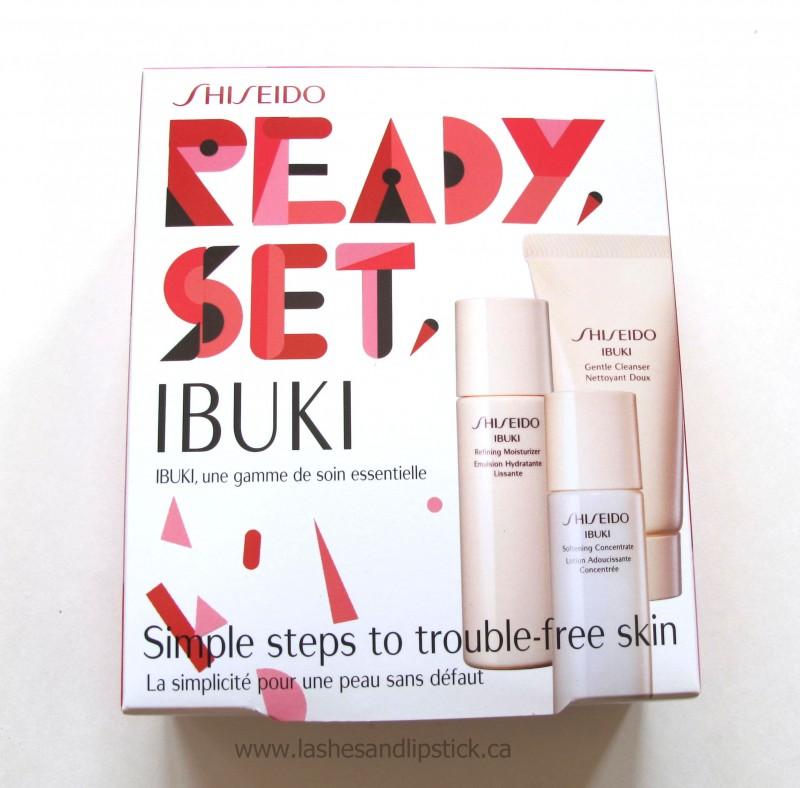 REVIEW: Shiseido Ready, Set Ibuki Starter Kit
