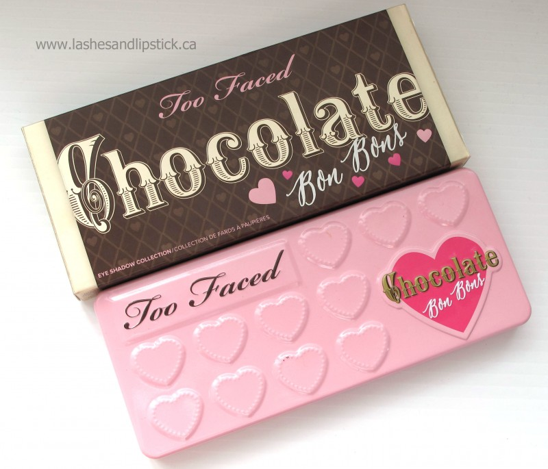 REVIEW: Too Faced Chocolate Bon Bons Palette