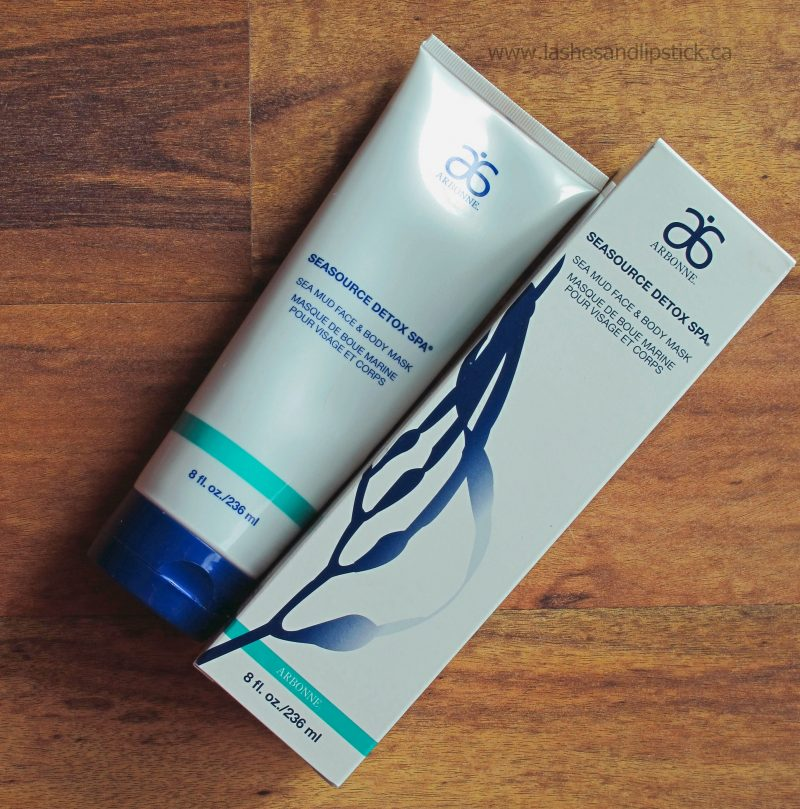 REVIEW: Arbonne SeaSource Detox Spa Sea Mud Face & Body Mask