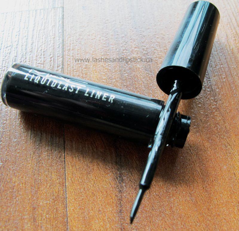 The Only Waterproof Eyeliner You Need: MAC LiquidLast Liner