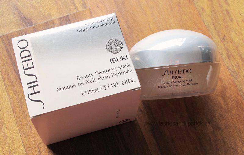 REVIEW: Shiseido Ibuki Beauty Sleeping Mask