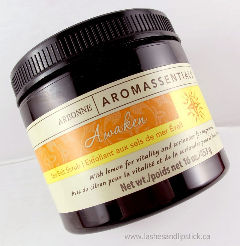 REVIEW: Arbonne Aromassentials Awaken Sea Salt Scrub
