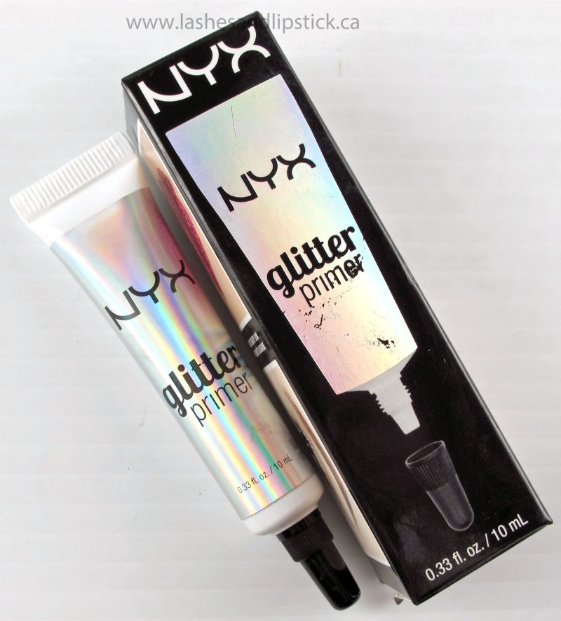 Keep Every Sparkle In It's Place with NYX Glitter Primer