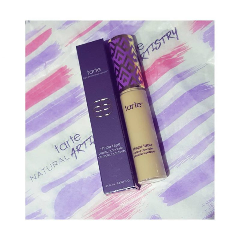 I Joined Tarte's #ShapeTapeNation