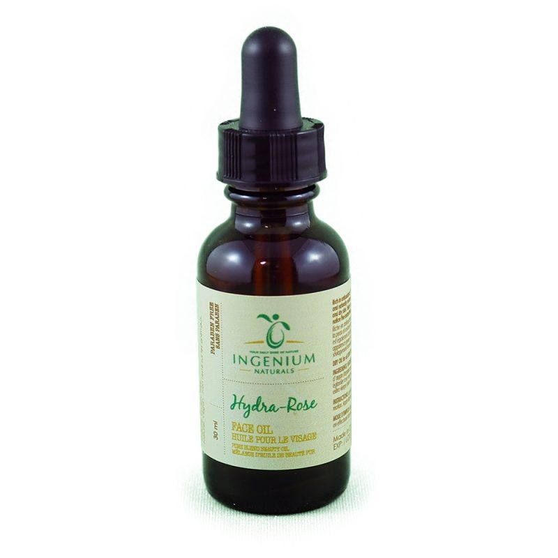 Your Daily Dose of Nature: Ingenium Hydra-Rose Facial Oil