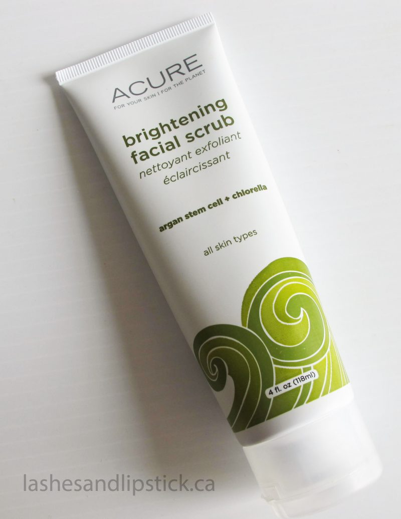 """Sea"" The Difference With Acure Brightening Facial Scrub"