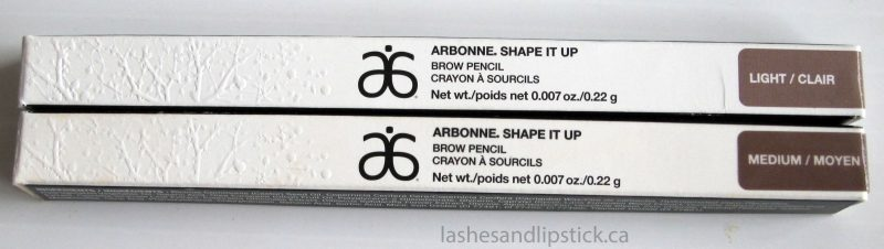Brow Love for Arbonne Shape It Up Brow Pencils