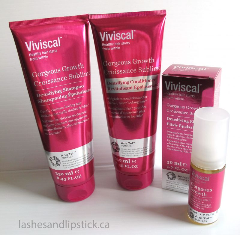 #HairGoals with Viviscal Gorgeous Growth Densifying Range