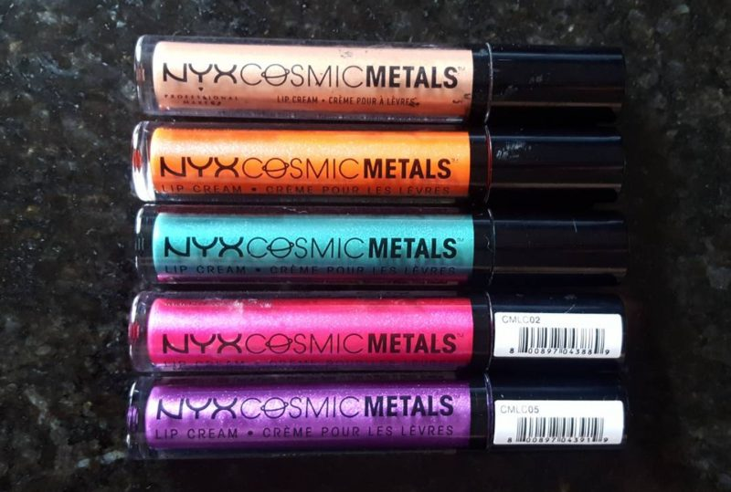 Out of This World Lips With NYX Cosmic Metals Lip Creams