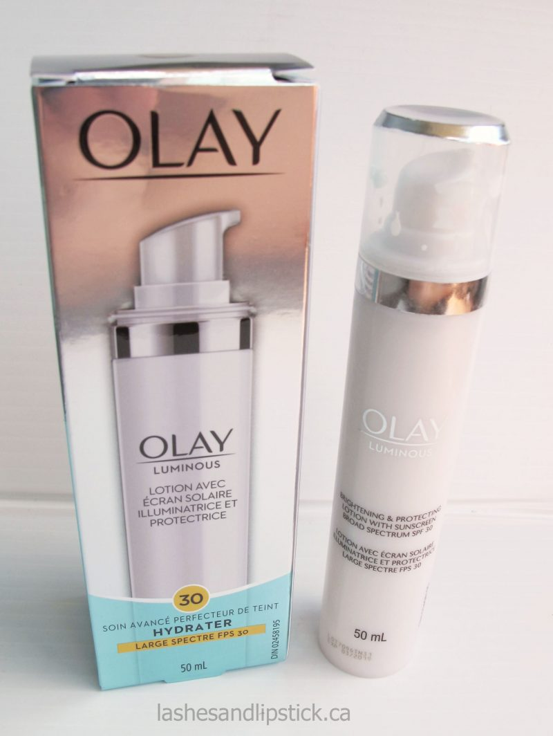 Protect Your Skin! Olay Luminous Brightening & Protecting Lotion SPF30