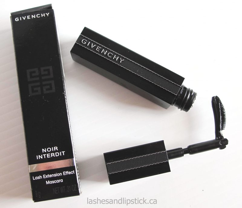 Givenchy Noir Interdit: Lash Extension Effect