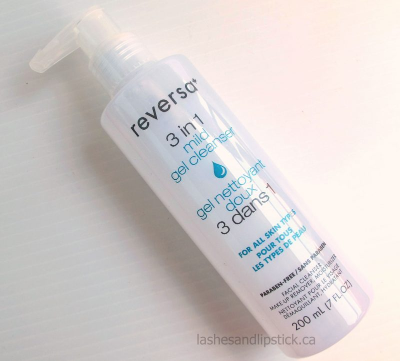 Reversa 3 in 1 Mild Gel Cleanser
