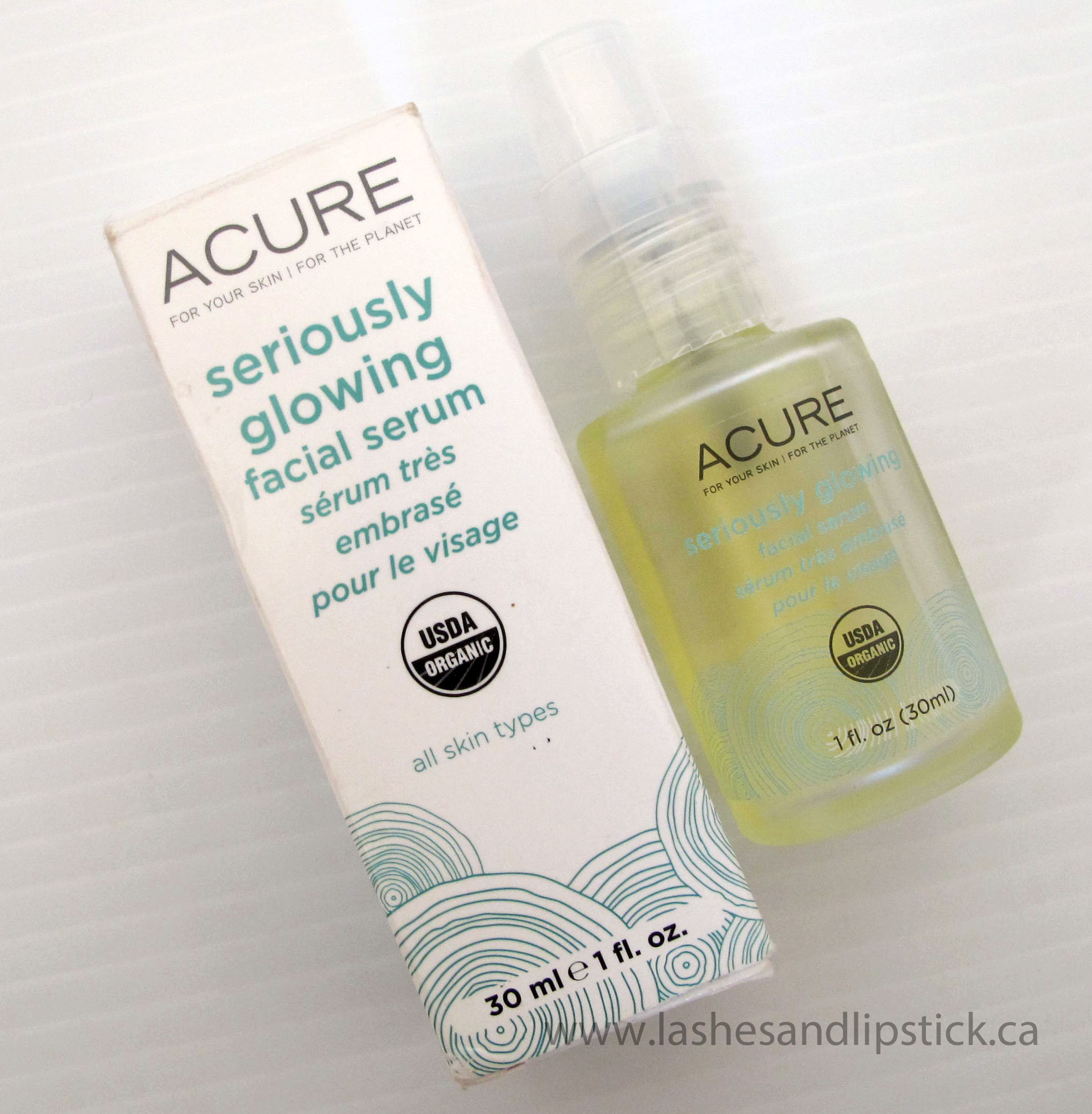 Acure Seriously Glowing Facial Serum Has My Skin Seriously