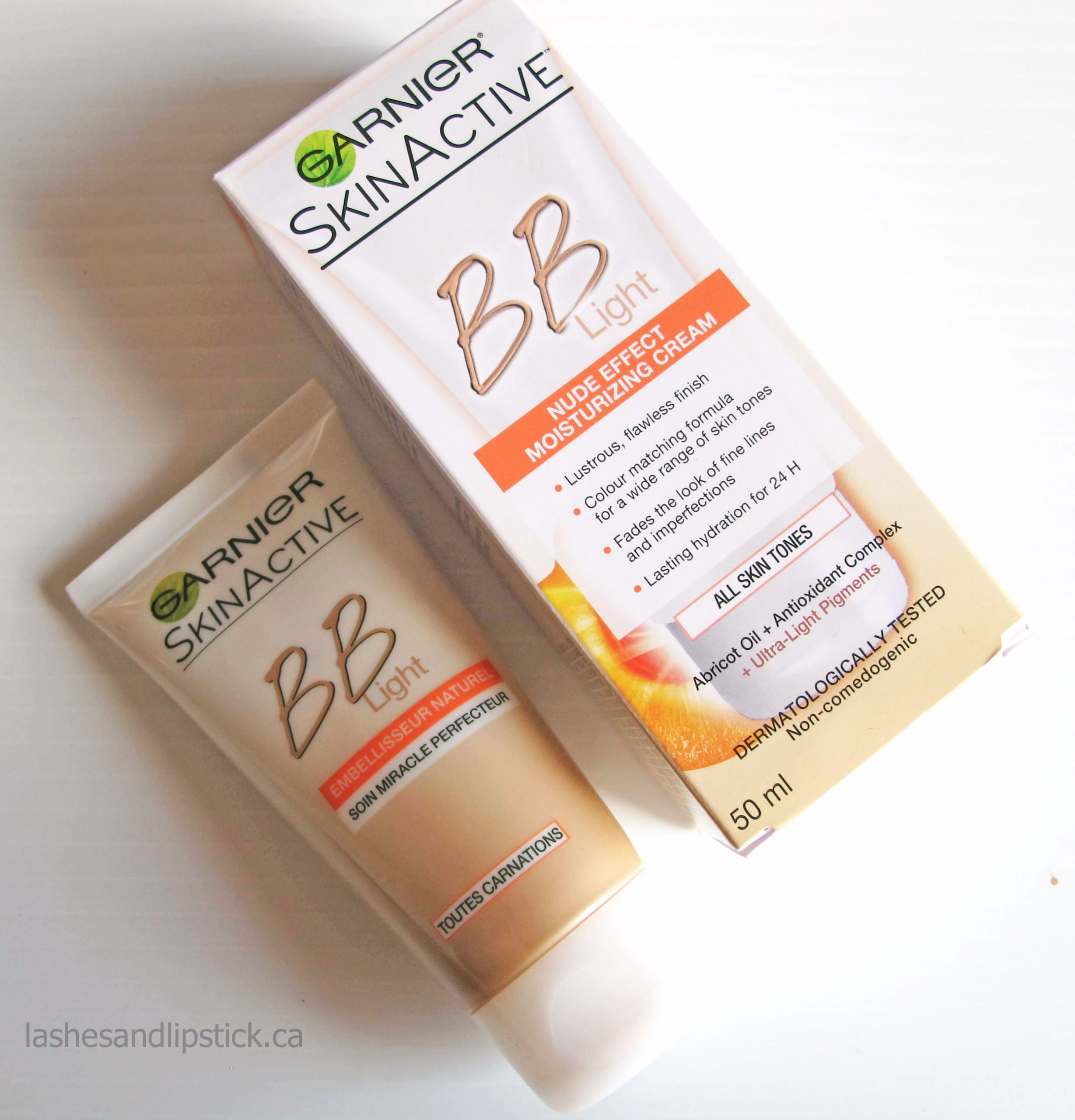 Garnier Skin Active BB Cream Nude Review | BEAUTY/crew